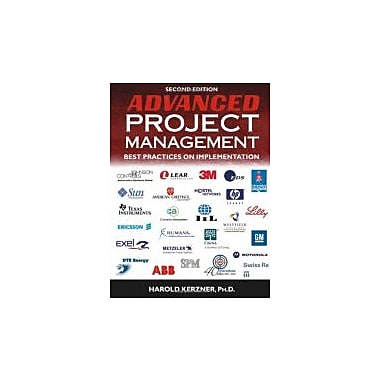 Advanced Project Management: Best Practices on Implementation, Used Book (9780471472841)