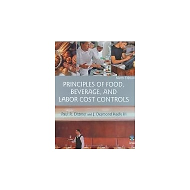Principles of Food, Beverage, and Labor Cost Controls, Used Book, (471783471)