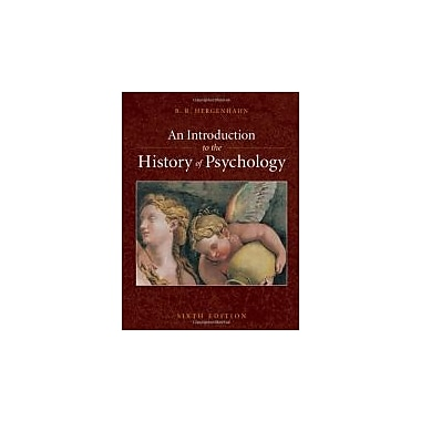 An Introduction to the History of Psychology, New Book (9780495506218)