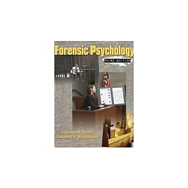 Forensic Psychology, New Book, (495506494)