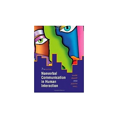 Nonverbal Communication in Human Interaction, Used Book (9780495568698)