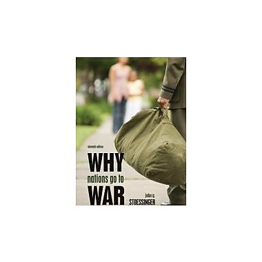 Why Nations Go to War, Used Book (9780495797180)