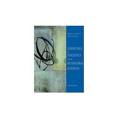 Essentials of Statistics for the Behavioral Sciences, Used (9780495812203)