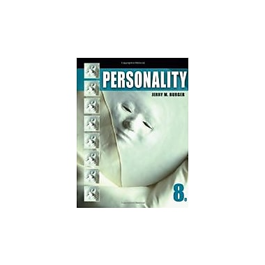 Personality (Psy 235 Theories of Personality), Used Book (9780495813965)