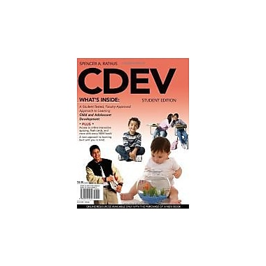 CDEV (with Review Cards and CourseMate Printed Access Card) (Available Titles Coursemate), Used Book (9780495905530)