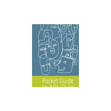 Pocket Guide to APA Style, New Book (9780495912637)