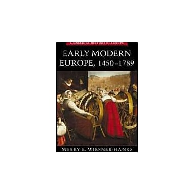 Early Modern Europe, 1450-1789, New Book (9780521005210)