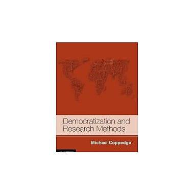 Democratization and Research Methods (Strategies for Social Inquiry), Used Book (9780521537278)