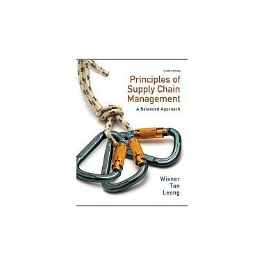 Principles of Supply Chain Management: A Balanced Approach (with Premium Web Site Printed Access Card), New Book (9780538475488)
