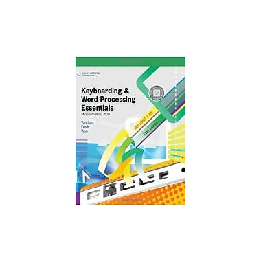Keyboarding and Word Processing Essentials, Lessons 1-55: Microsoft Word 2010 (College Keyboarding), New Book (9780538495387)