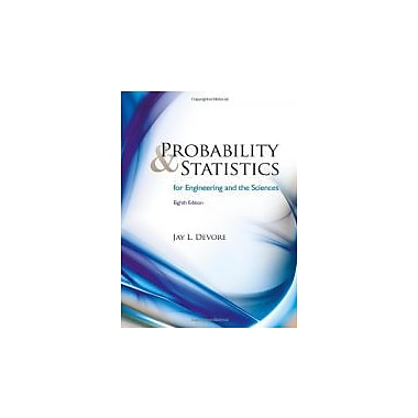 Probability and Statistics for Engineering and the Sciences, New Book (9780538733526)