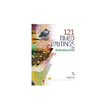 121 Timed Writings, New Book (9780538974905)