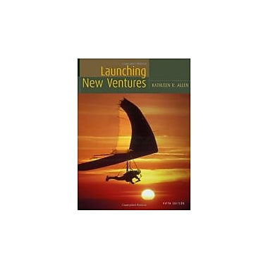 Launching New Ventures Fifth Edition, Used Book (9780547014562)