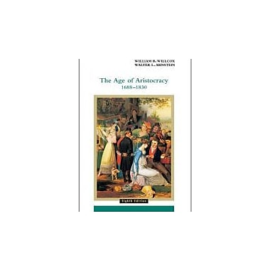 The Age of Aristocracy 1688-1830 (History of England, vol. 3), New Book (9780618001033)