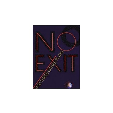 No Exit and Three Other Plays, Used Book (9780679725169)