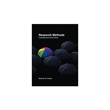 Research Methods: Concepts and Connections, New Book (9780716776819)