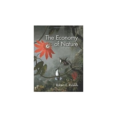 The Economy of Nature, New Book (9780716786979)