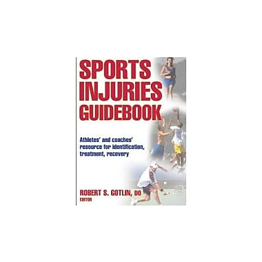 Sports Injuries Guidebook, New Book (9780736063395)