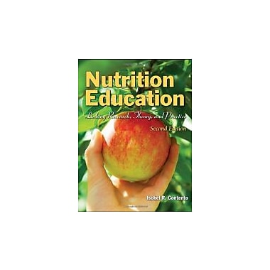 Nutrition Education: Linking Research, Theory, And Practice, New Book (9780763775087)