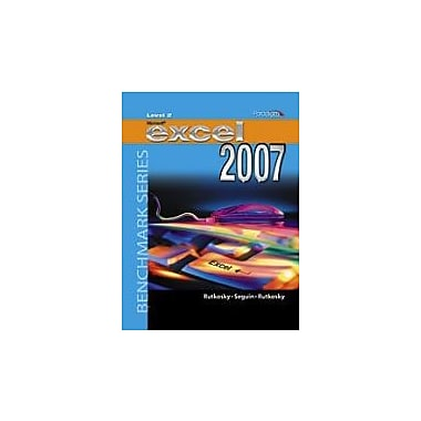Microsoft Excel 2007 Windows XP Level 2 with CD: Student Edition, Used Book (9780763830069)