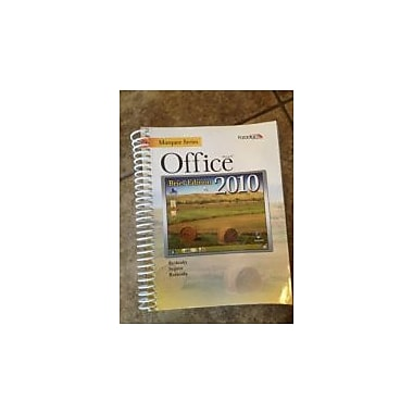 Marquee Series: Microsoft Office 2010-Brief Edition, New Book (9780763837723)