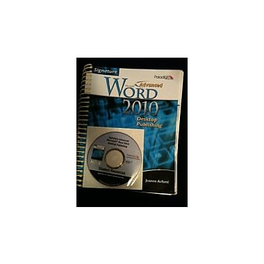 Advanced MS Word 2010 Desktop, New Book (9780763838904)