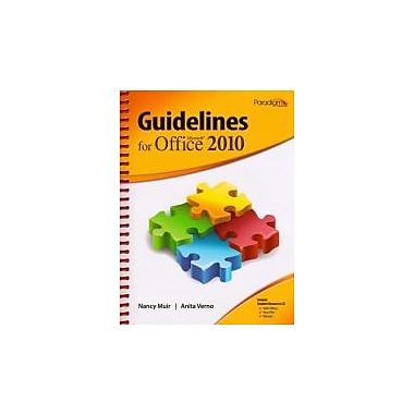 Guidelines for Microsofta Office 2010 (Guidelines Series), Used Book (9780763842604)