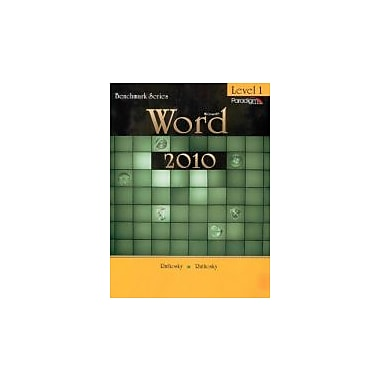 MICROSOFT WORD 2010 LEVEL 1, Used Book, (763843008)
