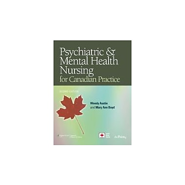 Psychiatric Mental Health Nursing for Canadian Practice, New Book (9780781795937)