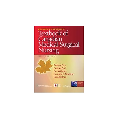 Brunner and Suddarth's Textbook of Canadian Medical-Surgical Nursing, New Book (9780781799898)