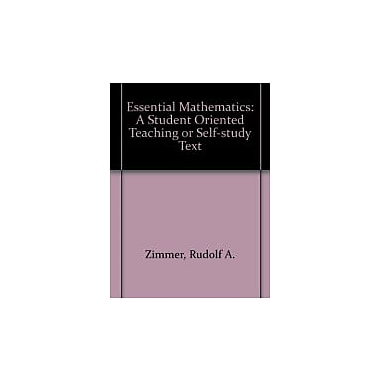 Student Manual for Essential Mathematics, New Book (9780787253288)
