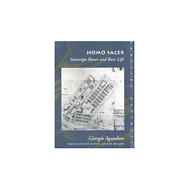 Homo Sacer: Sovereign Power and Bare Life (Meridian: Crossing Aesthetics), Used Book (9780804732185)