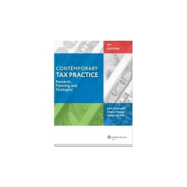 Contemporary Tax Practice: Research, Planning and Strategies (Third Edition), Used Book (9780808034834)