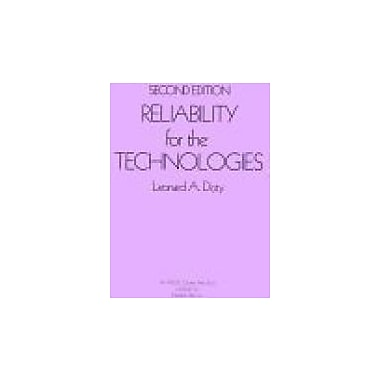 Reliability for The Technologies, Used Book (9780831130244)
