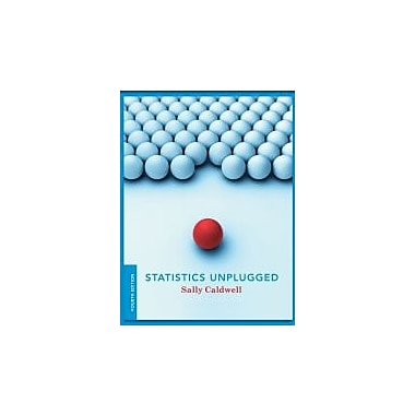 Statistics Unplugged, New Book (9780840029430)