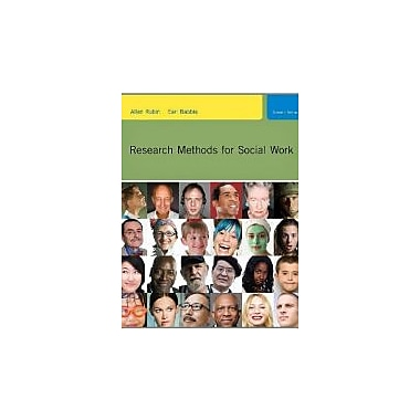Practice-Oriented Study Guide for Rubin/Babbie's Research Methods for Social Work, New Book (9780840032690)