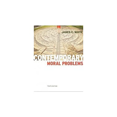 Contemporary Moral Problems, New Book (9780840033789)