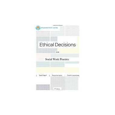 Brooks/Cole Empowerment Series: Ethical Decisions for Social Work Practice, Used Book (9780840034106)