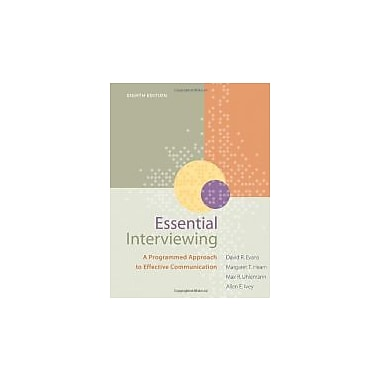 Essential Interviewing: A Programmed Approach to Effective Communication, Used Book (9780840034717)