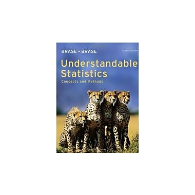 Understandable Statistics: Concepts and Methods, Used Book (9780840048387)