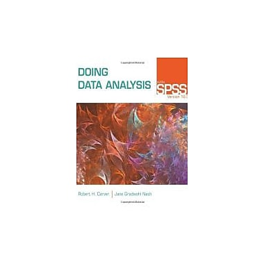 Doing Data Analysis with SPSS: Version 18.0, New Book (9780840049162)