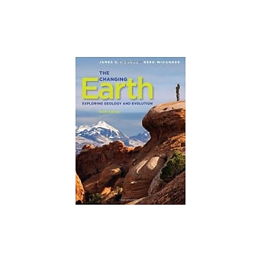 The Changing Earth: Exploring Geology and Evolution, New Book (9780840062086)