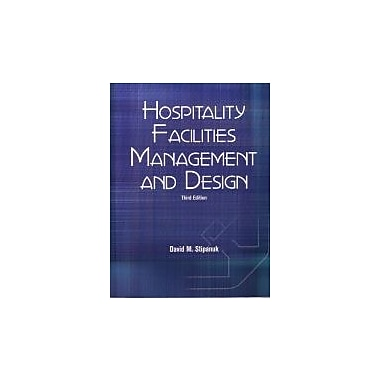 Hospitality Facilities Management and Design, Used Book (9780866122856)
