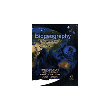 Biogeography, Fourth Edition, Used Book (9780878934942)