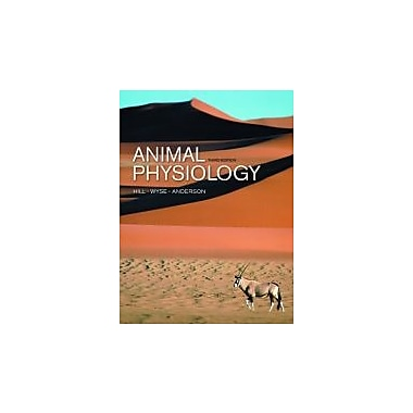Animal Physiology, Third Edition, New Book (9780878935598)