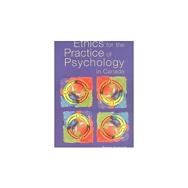 Ethics for the Practice of Psychology in Canada, New Book (9780888644220)