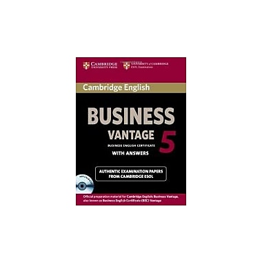 Cambridge English Business 5 Vantage Self-Study Pack, New (9781107606937)