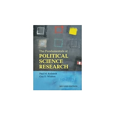 The Fundamentals of Political Science Research, New Book (9781107621664)