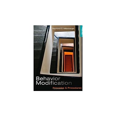 Behavior Modification: Principles and Procedures, New Book (9781111306113)