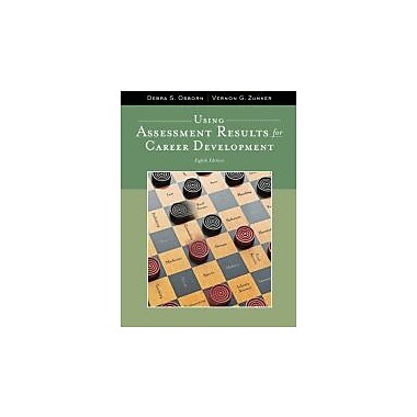 Using Assessment Results for Career Development (Graduate Career Counseling), New Book (9781111521271)